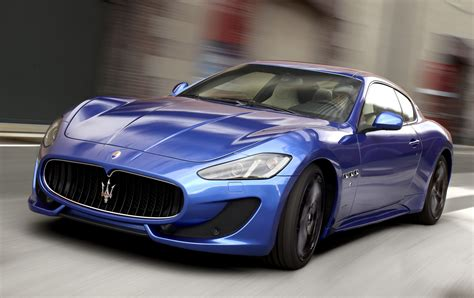 maserati granturismo blue maserati wallpapers pictures images