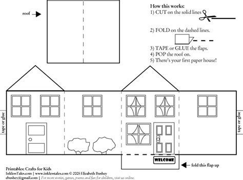 paper house template 3d paper house template search results calendar 2015
