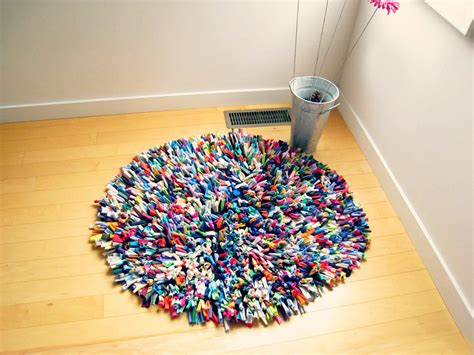 Tshirt Rug recycled tshirt rug cotton multicolor 36 rug