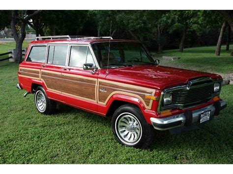 jeep wagoneer for sale 1985 jeep wagoneer for sale classiccars com cc 1001395