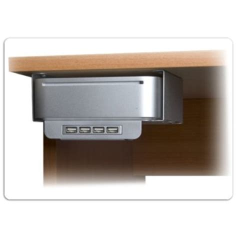 Mac Mini Mount Desk by Mac Mini Desk Mount With Usb2 0 Hub Gadgetgrid