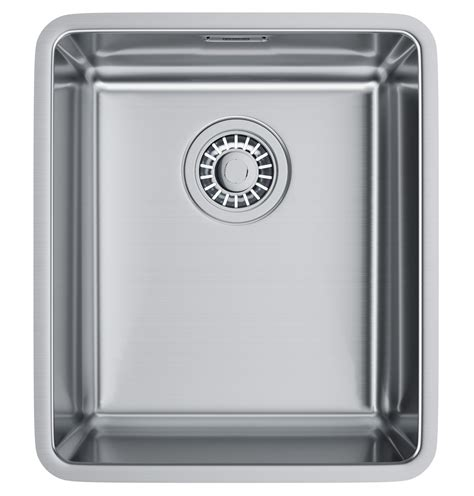 kitchen sink accessories kubus polished stainless franke kubus kbx 110 34 stainless steel undermount kitchen