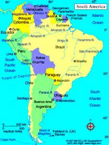 south america map south america atlas south america crain s personal pages world atlas america and
