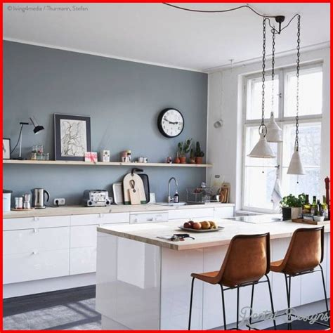 30 beautiful kitchen wall color ideas