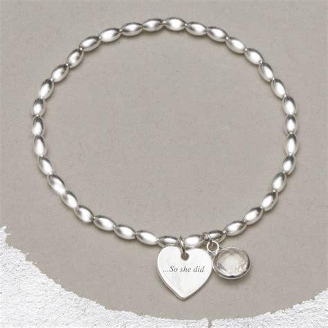 she bracelet she believed she could silver bracelet by bloom boutique