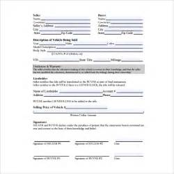 sample auto purchase agreement 6 free documents in pdf