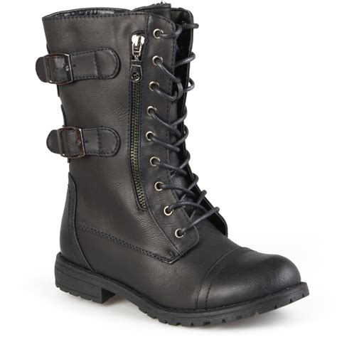 womans combat boots gallery for gt combat boots fold