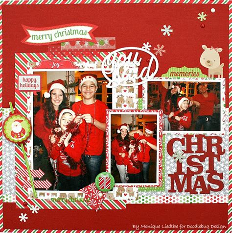 doodlebug home for the holidays doodlebug design inc home for the holidays layout