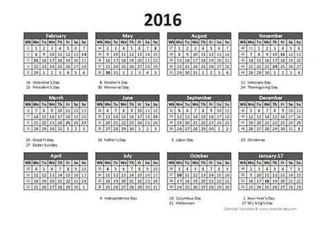 2016 Accounting Calendar 5 4 4 Free Printable Templates Accounting Calendar Template