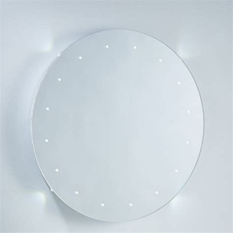 round led bathroom mirror buy endon lighting led backlight round bathroom mirror