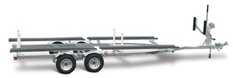 pontoon boat on car trailer pontoon load rite trailers