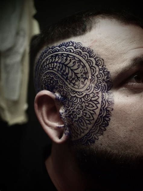 tattoo face with printer ink watercolor tattoo face ink best tattoo design ideas