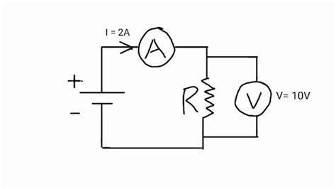 voltmeter in circuit diagram parallel circuit with ammeter and voltmeter radio wiring