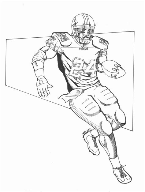 nfl quarterback coloring pages peyton manning coloring pages coloring pages designs