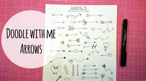 doodle with me arrows bullet journal elements study