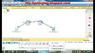 cisco packet tracer tutorial connect two routers cisco packet tracer tutorial step by step make money