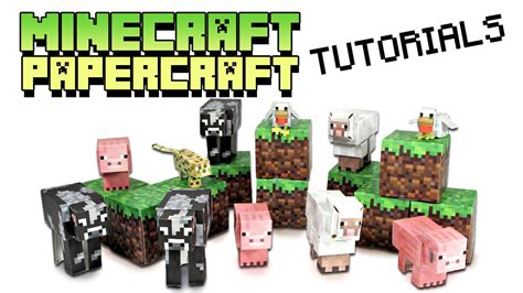 Minecraft Papercraft Ocelot - minecraft papercraft tutorial ocelot