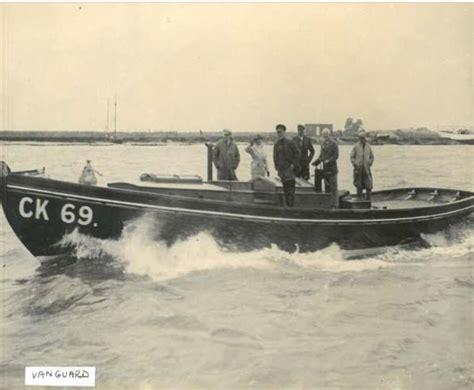 small boat used to tow large vessel boat which saved soldiers in dunkirk saved from firewood