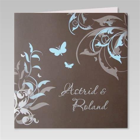 Einladungskarten Hochzeit Schmetterling by Geschmackvolle Einladung Zur Hochzeit Mit Schmetterlingen