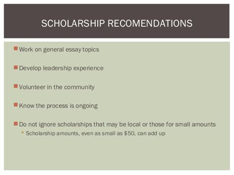 Scholarship Essay Exles Volunteer Finding Applying Winning Scholarships And Applying For Financial A