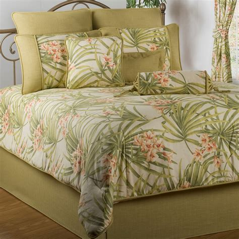 exotic bedding sea island tropical comforter bedding