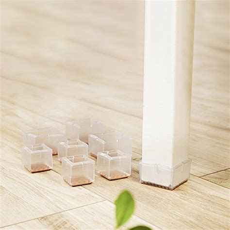 1 inch square chair leg floor protector chair leg floor protectors square furniture chair leg caps