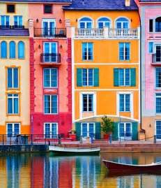 colorful houses in italy colorful houses bast magazine