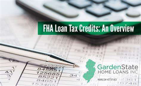 income tax rebate on housing loan fha loan tax credits an overview garden state home loans