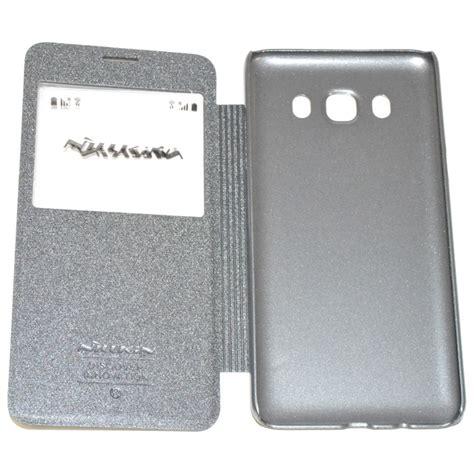 Casing Nillkin Samsung J510 2016 nillkin custodia sparkle leather flip book samsung galaxy j5 2016 j510 black
