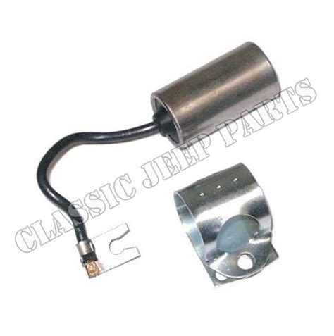 jeep ignition capacitor ignition condenser