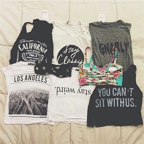 Los Angeles Crop Tshirt shirt tank top los angeles t shirt pretty tanks crop