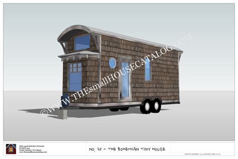 tiny house on wheels plans free no 30 the bohemian tiny house on wheels building plan