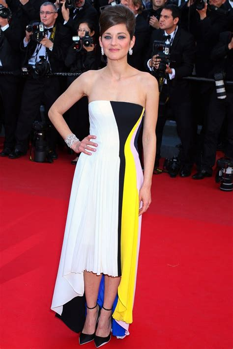 Catwalk To Carpet Marion Cotillard In Chanel 2 by Runway Looks On The Cannes Festival Carpet