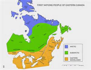 map of aboriginal groups in canada m bozic nations links