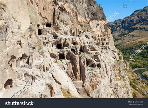 the second half of the mountain a guide to personal alchemy after awakening books vardzia cave monastery site excavated erusheti stock photo