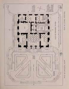 Le Petit Trianon Floor Plans by Le Petit Trianon Plan Of The Principal Floor Dibujo