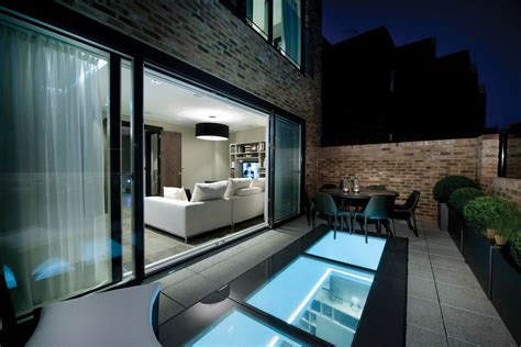 modular fixed walk  rooflights   contemporary