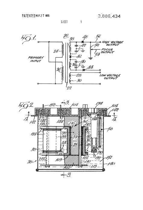flyback transformer diagram flyback transformer wiring diagram 34 wiring diagram