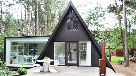 what is an a frame house so triangle houses are cool photo gallery clutter magazine