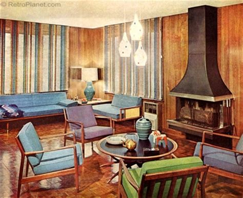 home design 60s 1960s decorating style