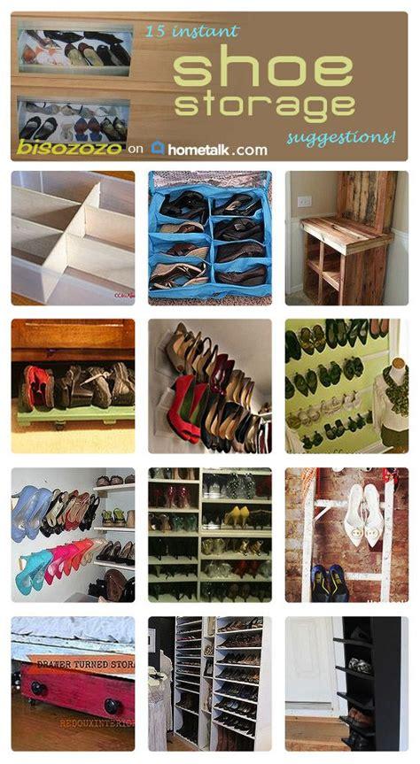 shoe tidy shoe storage and storage on pinterest