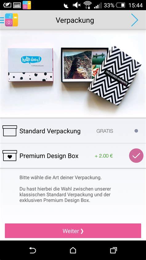 app layout box fotodrucke jetzt neu bei mypostcard mypostcard