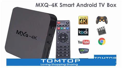 mxq 4k smart android tv box