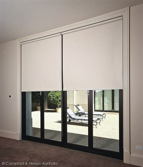 Pull Down Window Blinds Australian Made Cream Roller Blinds Block Out Fabrics