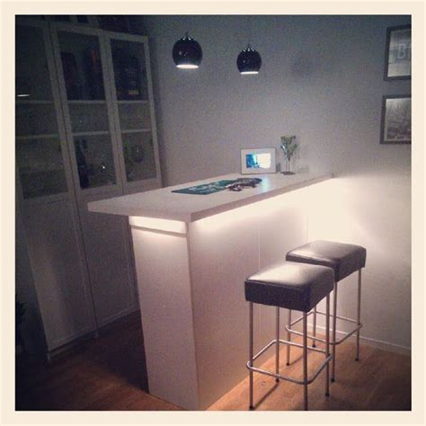 home made bar with ikea furniture house things i like