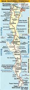 baja california map pdf baja map my