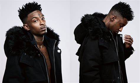 21 savage is the star of off white s fw16 lookbook