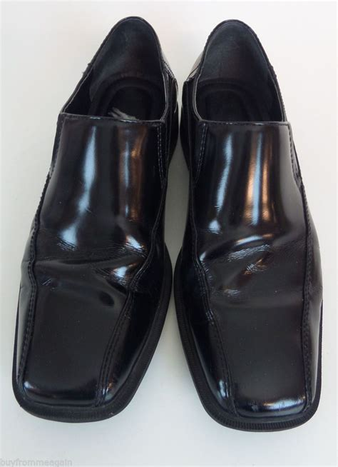 calvin klein shoes black dress formal leather fane