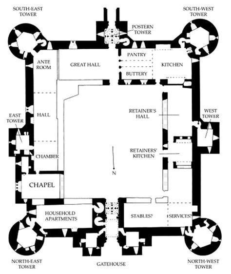 medieval castle floor plan bodiam castle bodiam castle castles and english