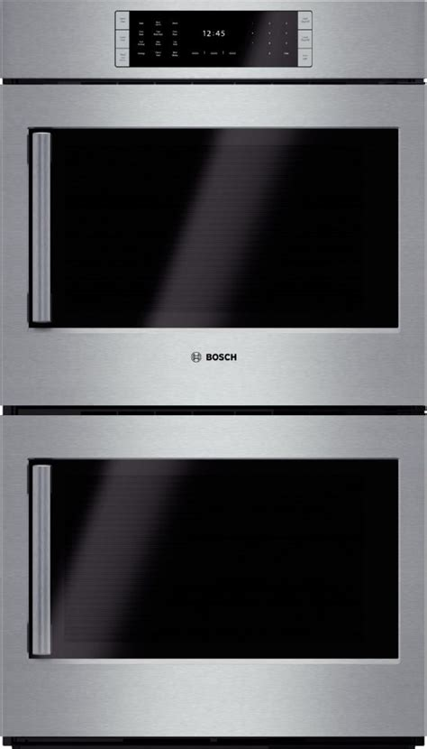 swing door oven hblp651ruc bosch benchmark 30 quot double electric wall oven